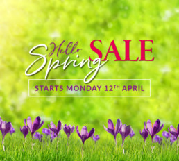 Eyres Home Chesterfield - Spring Sale Starts 12th April 2021