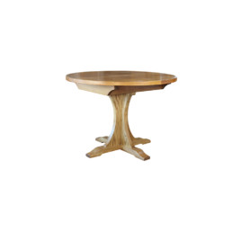 Wood Bros Old Charm Round Extendable Table
