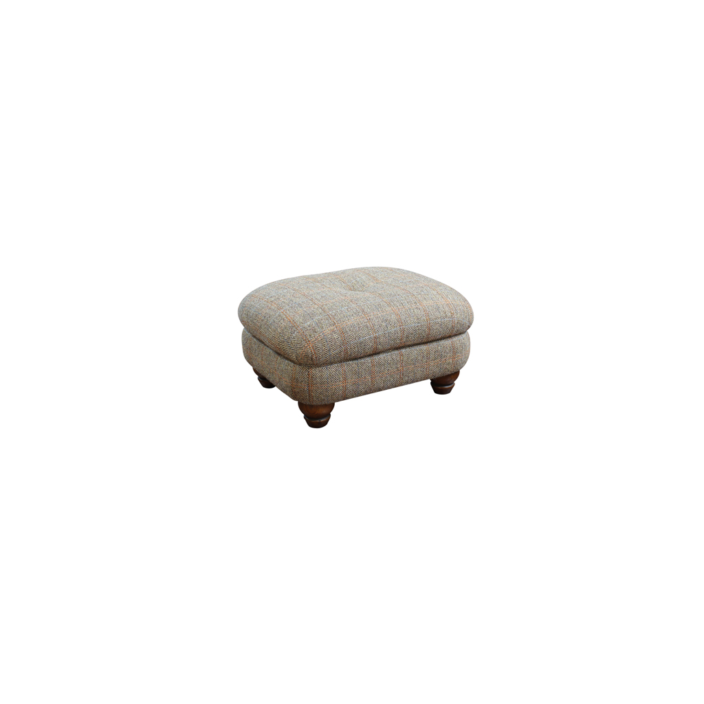 Wood Bros Pickering Accent Footstool