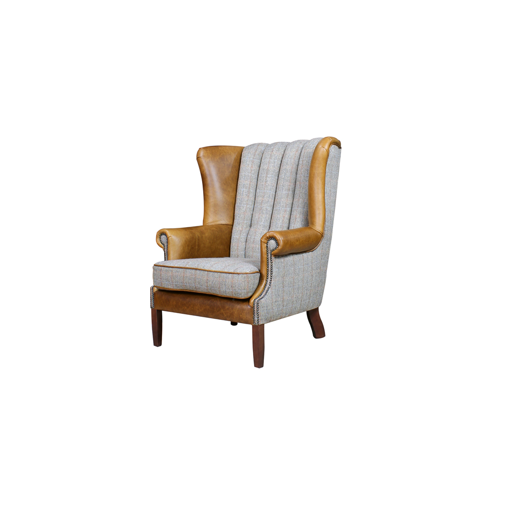 Worth Furnishing Fluted Wing Chair