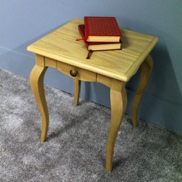 Durham Lamp Table with Drawer