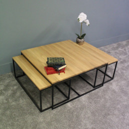 Triple Coffee Table Set