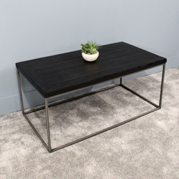 Coffee Table - Rectangular/Black